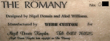 The Romany Label