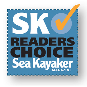 Sea Kayaker Magazine Reader's Choice Award Logo